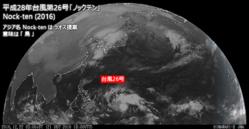 2016年12月22日3時 ひまわり8号可視赤外合成画像