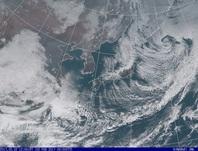 「ひまわり8号」可視画像 2017年2月2日12時JST
