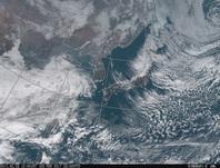 「ひまわり8号」可視画像 2017年2月3日12時JST