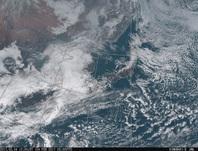 「ひまわり8号」可視画像 2017年2月4日12時JST