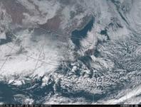 「ひまわり8号」可視画像 2017年2月8日12時JST