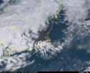 「ひまわり8号」可視画像 2017年2月17日12時50分JST