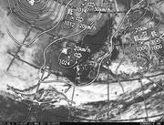 「ひまわり8号」可視画像&天気図合成 2017年3月11日12時JST