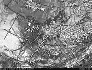 「ひまわり8号」可視画像&天気図合成 2017年3月15日12時JST