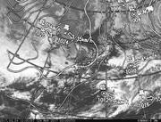 「ひまわり8号」可視画像&天気図合成 2017年3月24日12時JST