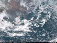 「ひまわり8号」可視画像 2017年3月29日12時JST