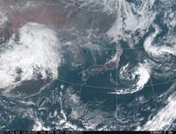 「ひまわり8号」可視画像 2017年4月4日12時JST