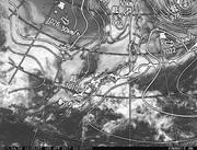 「ひまわり8号」可視画像&天気図合成 2017年4月8日12時JST