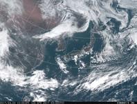 「ひまわり8号」可視画像 2017年4月24日12時JST