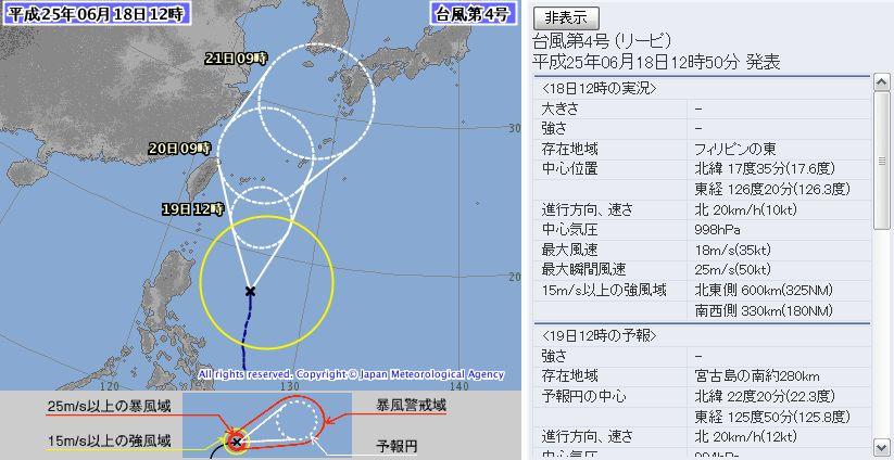 memo:2013年台風第4号「リーピ...