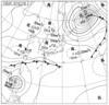 2014年9月19日21時 実況天気図