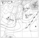 実況天気図 2014年12月6日6時JST