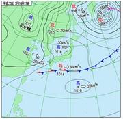 「ひまわり8号」可視画像 2018年2月16日12時JST