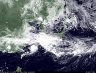 ひまわり7号可視画像 2014年6月17日12時JST