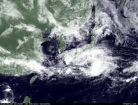 ひまわり7号可視画像 2014年6月18日12時JST