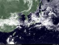 ひまわり7号可視画像 2014年7月4日12時JST