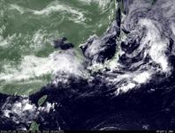 ひまわり7号可視画像 2014年7月5日12時JST