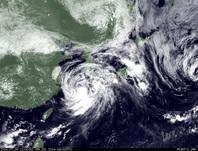 ひまわり7号可視画像 2014年7月9日12時JST