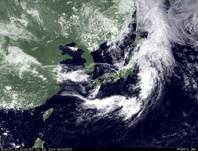 ひまわり7号可視画像 2014年7月11日12時JST