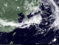 ひまわり7号可視画像 2014年7月13日12時JST