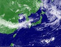 ひまわり7号可視画像 2014年7月15日12時JST