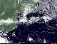 ひまわり7号可視画像 2014年7月17日12時JST