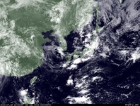 ひまわり7号可視画像 2014年7月19日12時JST