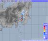 気象レーダー 2014年7月24日19時30分