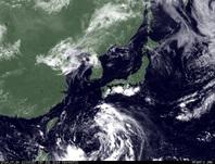 ひまわり7号可視画像 2014年7月30日12時JST