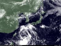 ひまわり7号可視画像 2014年7月31日12時JST