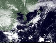 ひまわり7号可視画像 2014年8月12日12時JST