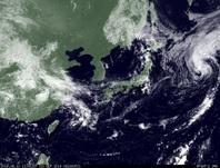 ひまわり7号可視画像 2014年9月10日12時JST