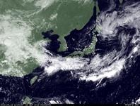 ひまわり7号可視画像 2014年9月14日12時JST