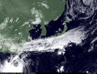 ひまわり7号可視画像 2014年9月20日12時JST