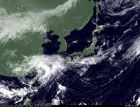 ひまわり7号可視画像 2014年9月22日12時JST