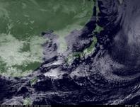ひまわり7号可視画像 2014年11月28日12時JST