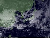 ひまわり7号可視画像 2014年11月29日12時JST