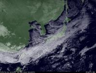 ひまわり7号可視画像 2014年12月4日12時JST