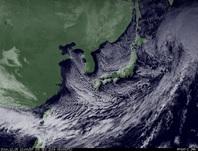 ひまわり7号可視画像 2014年12月6日12時JST
