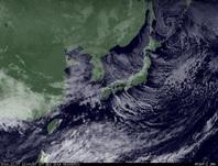 ひまわり7号可視画像 2014年12月7日12時JST