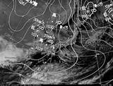 ひまわり7号可視画像・天気図合成 2014年12月7日12時JST