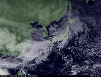 ひまわり7号可視画像 2014年12月11日12時JST