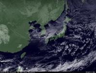 ひまわり7号可視画像 2014年12月31日12時JST