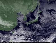 ひまわり7号可視画像 2015年1月18日12時JST