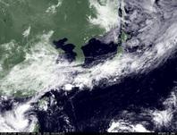 ひまわり7号可視画像 2015年7月6日12時JST
