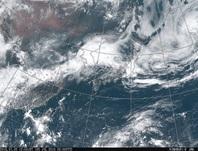 ひまわり8号可視画像 2016年7月5日12時JST