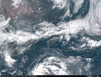 ひまわり8号可視画像 2016年7月6日12時JST