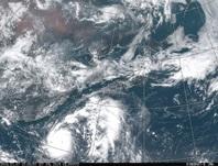 ひまわり8号可視画像 2016年7月7日12時JST