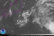 2016年8月19日21時 ひまわり8号赤外線画像