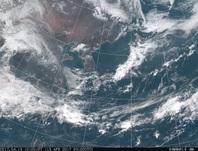 「ひまわり8号」可視画像 2017年4月15日12時JST